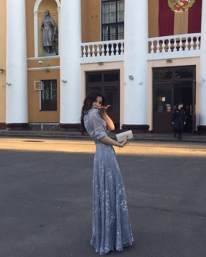 девушка на выпускном instagram grinkodasha