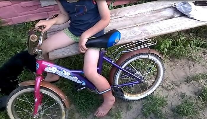 светлогорские спасатели освободили ногу ребёнка из оков велосипеда