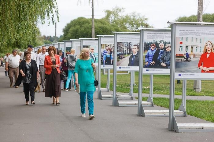 Церемония открытия фотовыставки «Проекты в лицах»