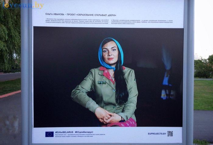 Выставка проекты в лицах. стенд заключенная ольга иванова