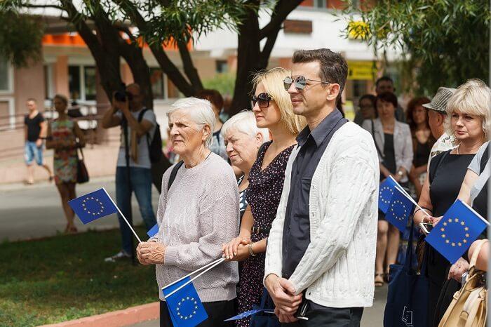 открытие выставки проекты в лицах в светлогорске