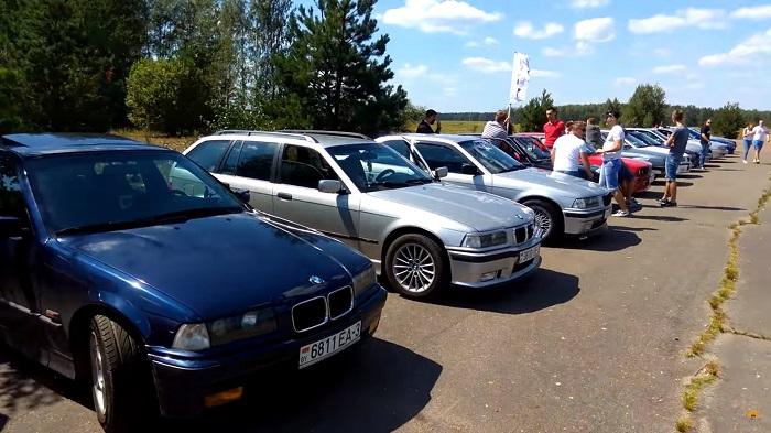 BMW fest Svetlogorsk 2017 автомобили