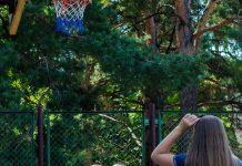 Стритбол 2017 баскетбол спорт Сила Шатилы девушки мяч кольцо