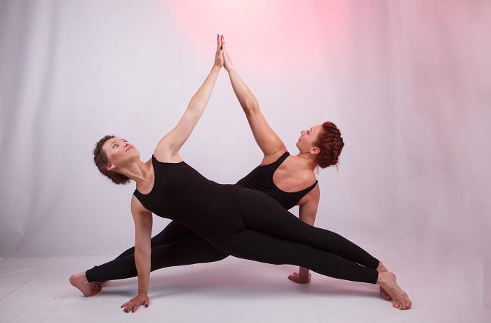 пилатес и йога с Инной Щур и Оксаной Богдан 12