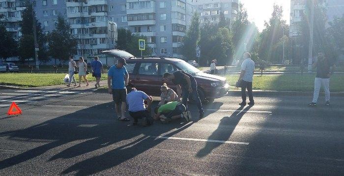 в Витебске автомобиль киа сбил мальчика 01.08.2017