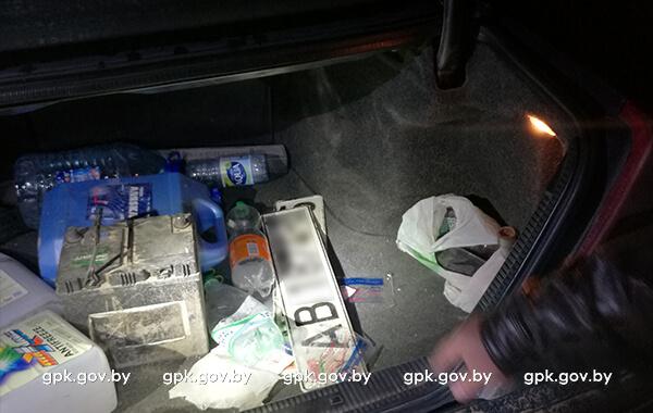 Контрабанда сигарет в Гродно 08.09.2017