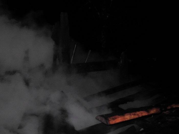 Пожар в деревне поесье 2