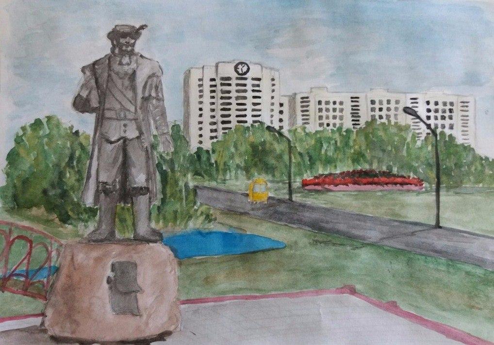 Роман Шатила рисунок Шкоды Андрея 7 лет