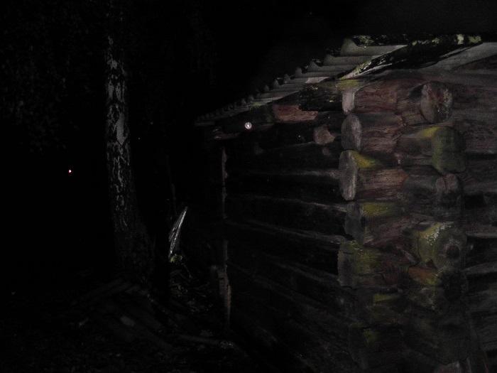 Сгорел сарай в деревне Полесье