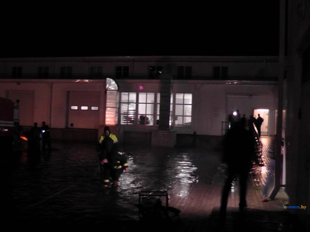 потоп возле ТЦ Березки