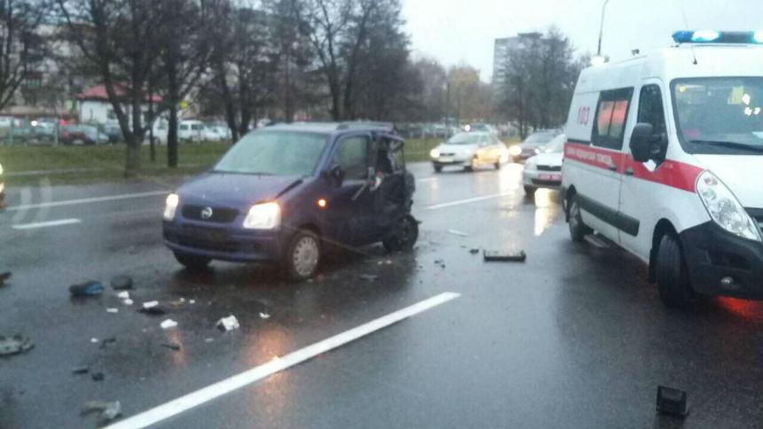 ДТП на мкад фура сбила водителей 2