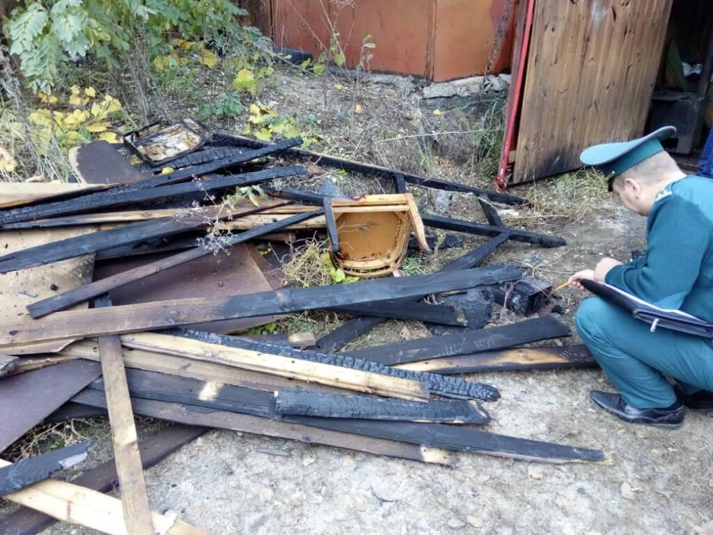 Пожар в гараже Металлист доски