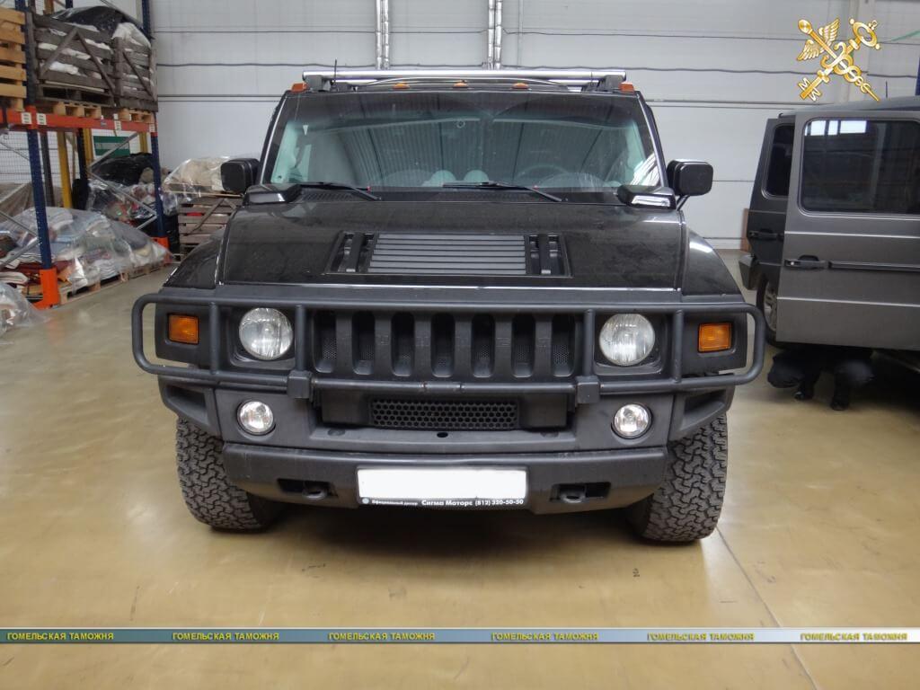 автомобиль HUMMER H2 2003 г. в.