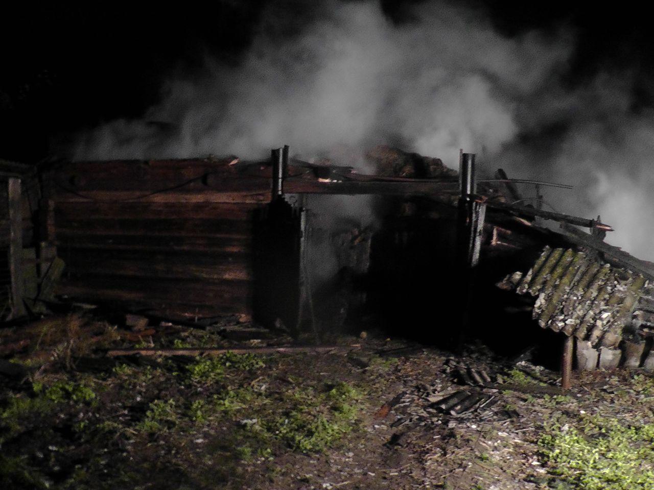 Пожар в деревне Секеричи H1210018