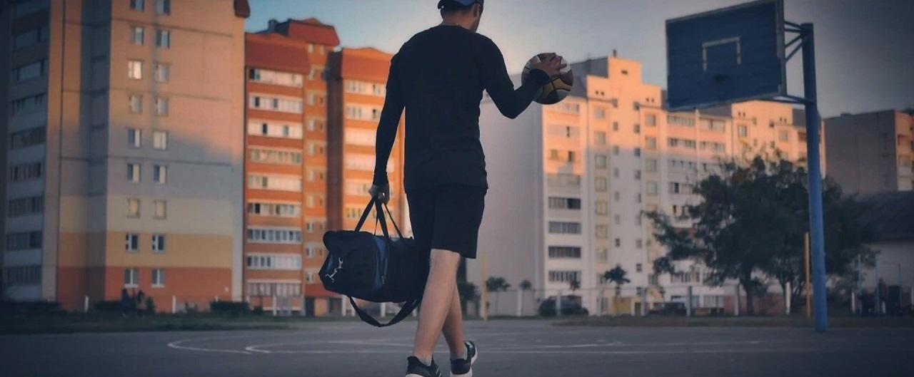 Реклама одежды бренда SVT Lime баскетбол