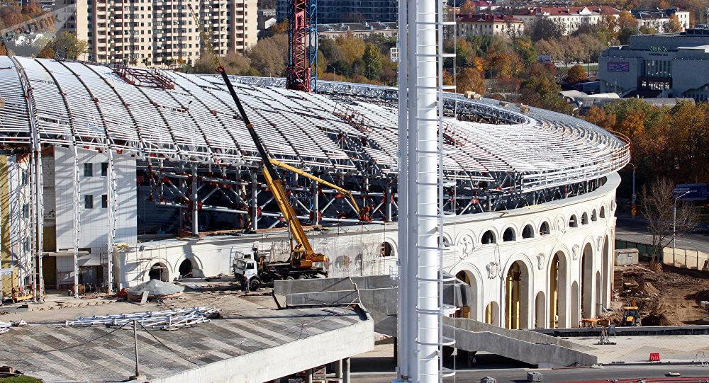 Реконструкция стадиона Динамо в минске (1)