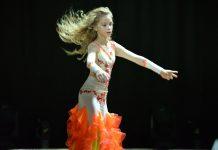 Танец Виолетты Русинович в Речице
