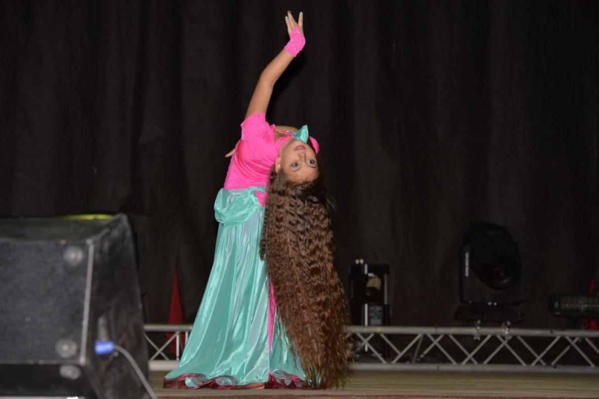 Танец девушка