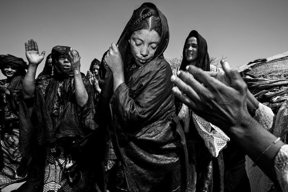 племя туарегов, женщины