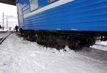 В Жлобине сошёл с рельсов пассажирский поезд, вагон