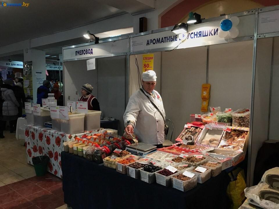 Выставка зимний ценопад в СЦК ароматные вкусняшки