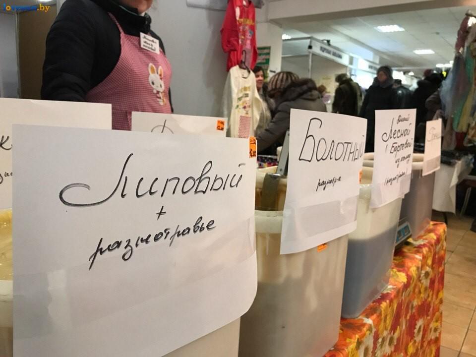 Выставка зимний ценопад в СЦК мед липовый