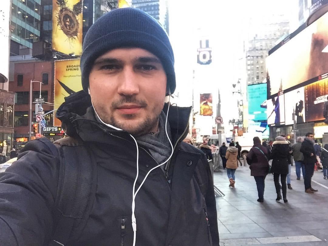 Яков Бута в Нью-Йорке