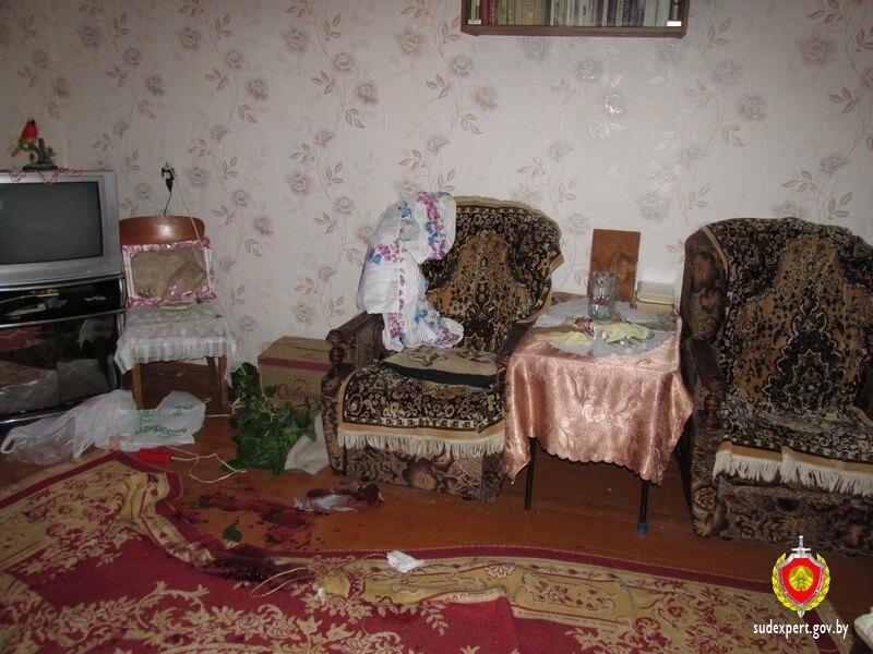 квартира Место убийства в сосновом бору кресло