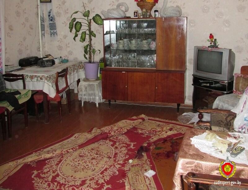 квартира Место убийства в сосновом бору