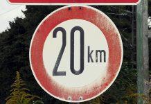дорожный знак 20 км час ограничение скорости