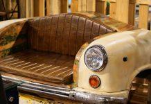 скамейка лавка оригинальная в автомобиле (1)