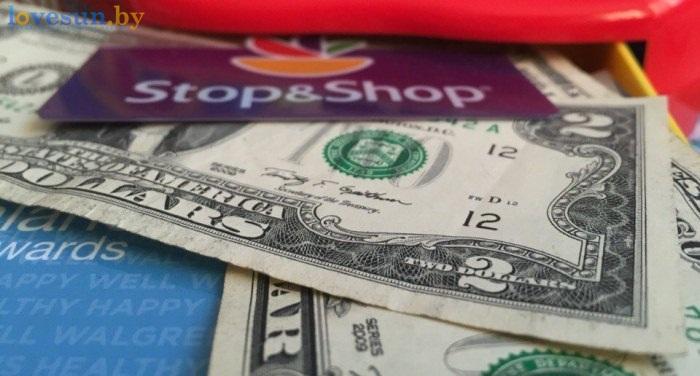 деньги доллары stop and shop валюта