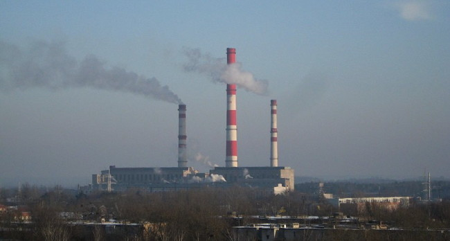 ТЭЦ Светлогорска, завод, выбросы.