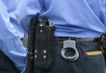 Милиция, наручники, фото euroradio.fm