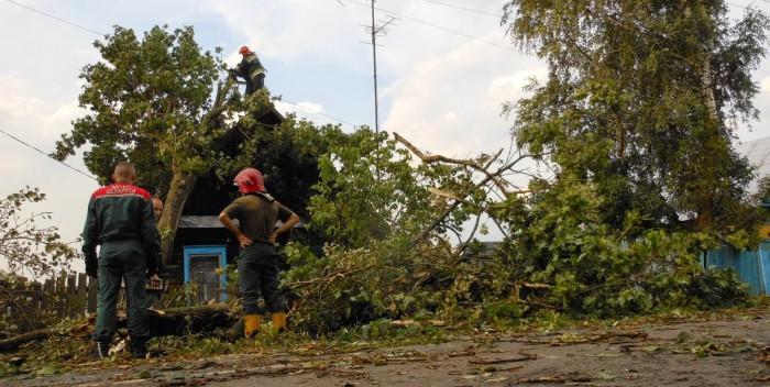 После бури в Чирковичах 13.08.2014.