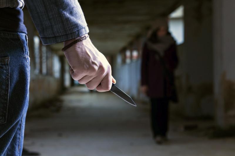 Криминал, нож, женщина, рука, убийца