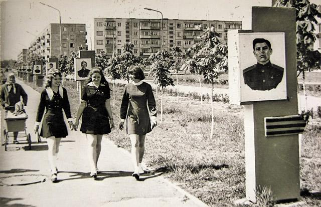 Старое фото Светлогорска Аллея героев