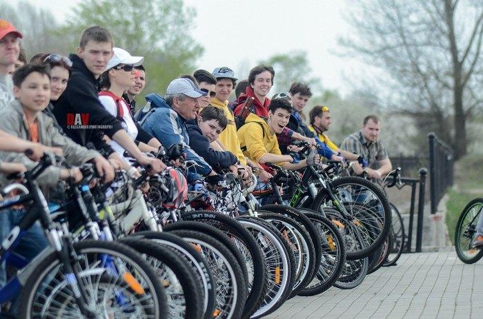 Открытие велосезона 2015 набережная