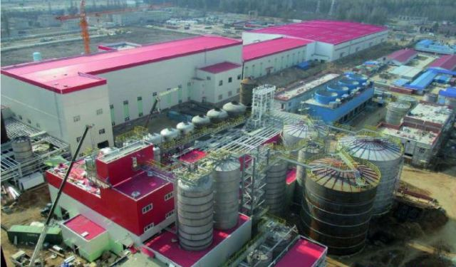 завод беленой целлюлозы