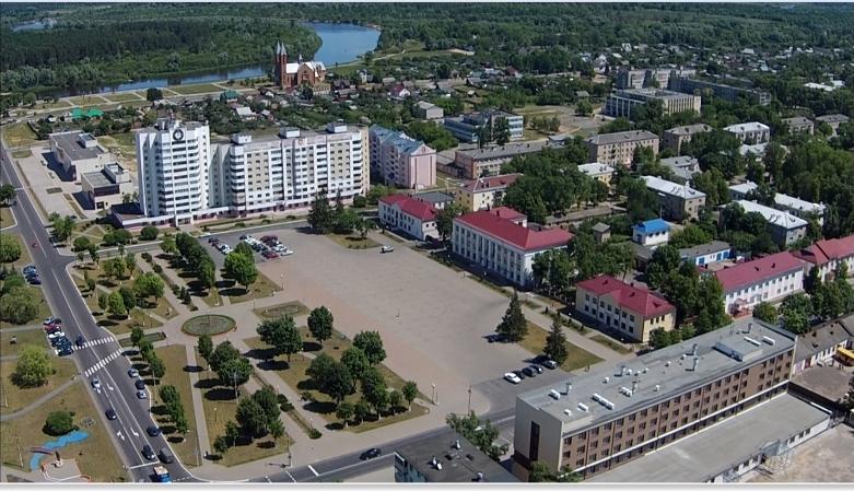 центральаня площадь Светлогорска