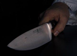 нож криминал убийство