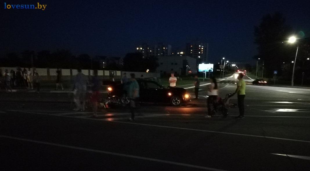 ДТП на набережной площади