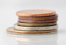 Деньги монеты копейки процент