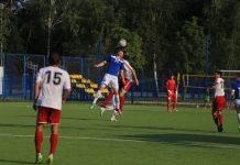 Футбол Луч Химик август 2017 головой