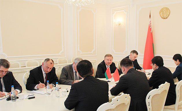 Кобяков на совещании Синомач