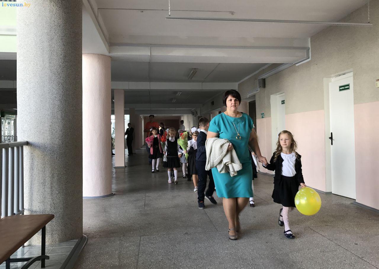1 сентября 2017 в 12 школе преподаватель с детьми учитель