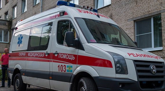 автомобиль скорой помощи микроавтобус фольксваген