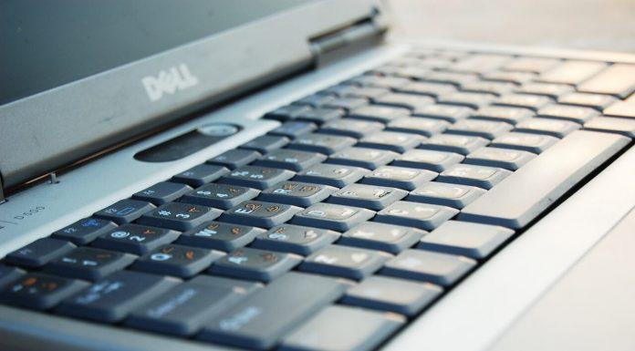 Клавиатура ноутбука Dell комп