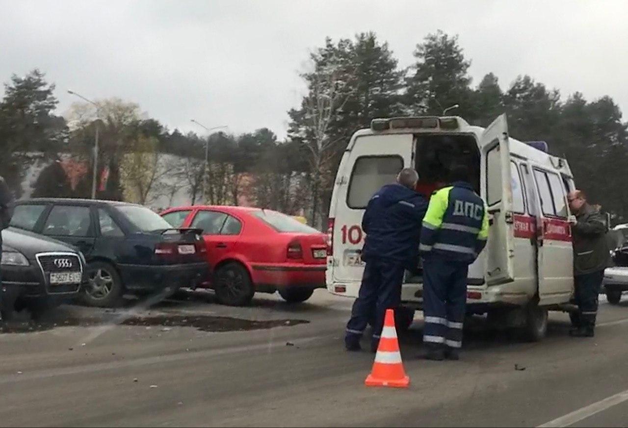 ДТП возле техникума пассат фольксваген 22.11.2017 ДПС