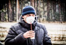 #малярысветлогорска в маске из-за запаха от ЦКК
